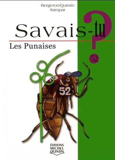 Les punaises 52 savoir books - Que mange les punaises ...